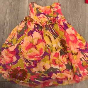 Gap girls floral dress 3-6mo